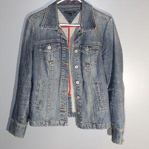 Womens Tommy Hilfiger Medium Denim Jacket